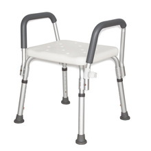 Bath-Stool Armrests Adjustable-Height with Non-Slip Pregnant-Women Aluminum-Alloy Elderly