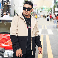 New 2020 Spring Autumn Windproof Men 100% Polyester Design Clothes Casual Streetwear Bomber Jacket Plus Big Size M-6XL 7XL 8XL(China)