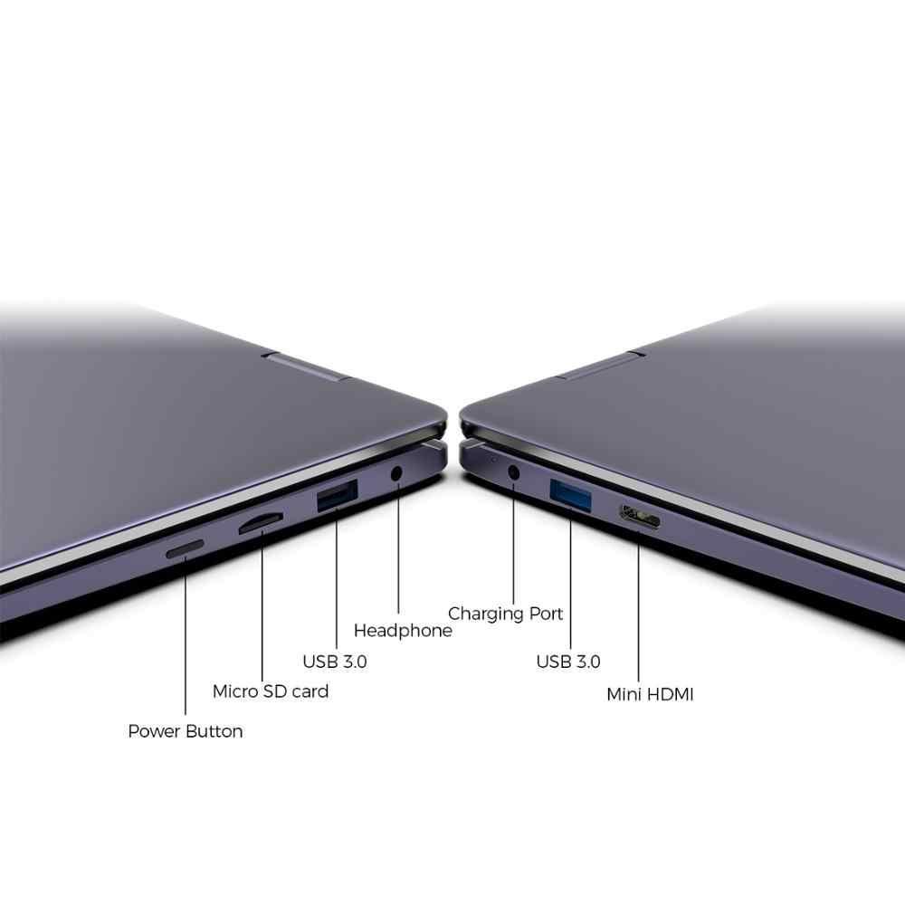 كمبيوتر لوحي جديد XIDU PhilBook Max شاشة لمس كمبيوتر محمول ثنائي النواة لوحة مفاتيح بإضاءة خلفية مع 8GB RAM 128GB ROM 14.1 بوصة