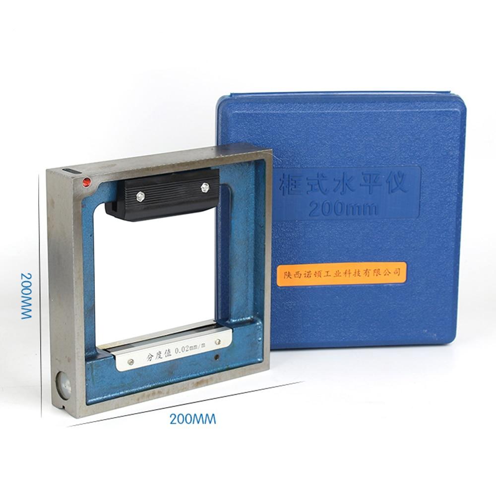Tools : 0 02 0 05mm 100 150 200 250 300mm Mechanical Frame level Bar Level Meter Instrument Measuring Tools for Equipment Adjustment