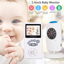 цена на 2.4'' LCD Video Camera Baby Monitor With Camera Digital Cam Optics Infrared Night Vision Wireless 2-Way Talk Temperature Sensor