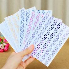78 шт/лист золотой штампованный прозрачный угловая наклейка для фотоальбомов декорационный Скрапбукинг для рамки 5 цветов