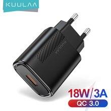Kuulaa Быстрая зарядка 30 qc 18 Вт usb зарядное устройство для