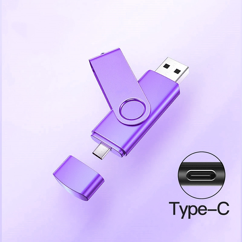 Type C Micro Usb Interface Memory Flash 32GB 64GB 128gb  Usb Flash Drive Memory Stick Pendrive