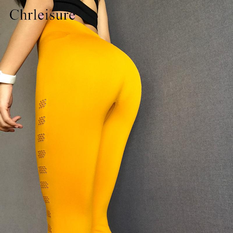 Chrleisure Fitness Seamless High Waist Women's Leggings Sexy Workout Push Up Female Trousers Casual Solid Color Woman's Clothes