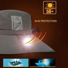 Солнцезащитная Кепка с защитой от ультрафиолета, легкая быстросохнущая дышащая Кепка для альпинизма, рыбака с струной для подбородка
