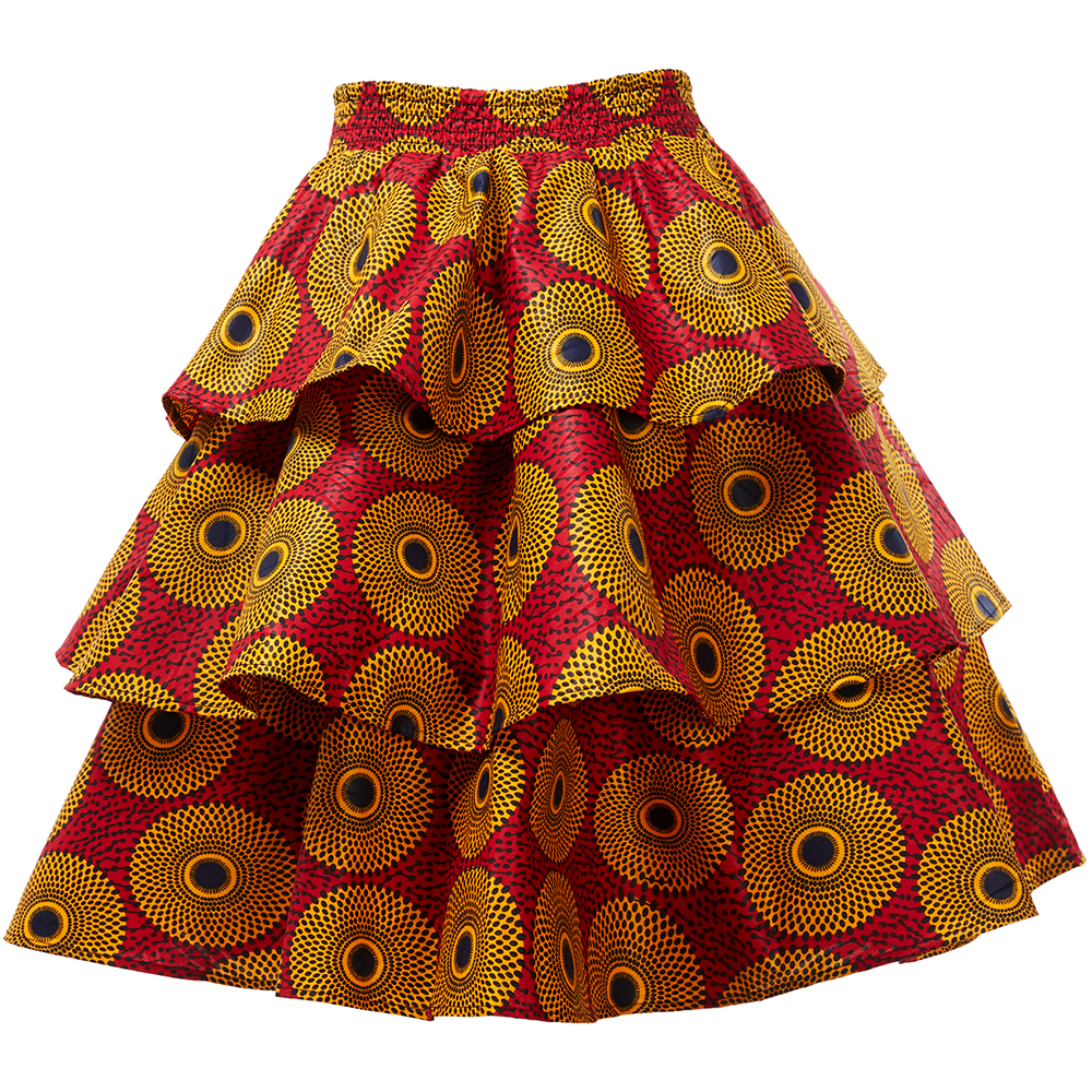 African Clothes For Women Skirt Ankara New Style African Skirt Dashiki African Traditional Clothing Print Skirt Plus Size