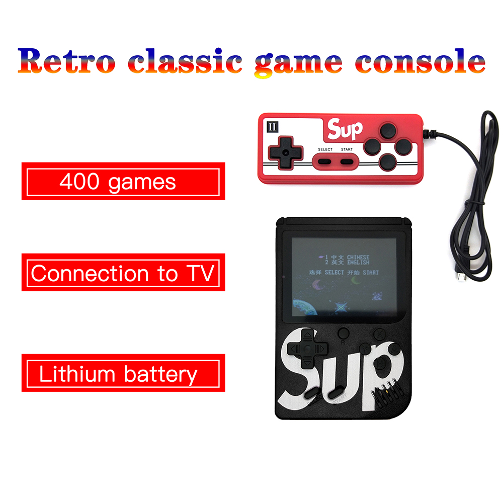 MRSVI Classic Handheld Game Players Console Retro Electronic Gamepad Box 3.0inch TFT LED Screen TV AV OUT for Child BOY Gift