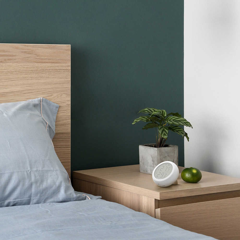 BlitzWolf ZigBee беспроводное подключение ЖК-экран умный дом 50 м датчик температуры и влажности термометр гигрометр