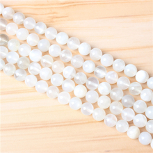 Bai Yueguang 4/6/8/10 mm Natural Stone Bead Round Bead Spacer Jewelry Bead Loose Beads For Jewelry Making DIY Bracelet Necklace