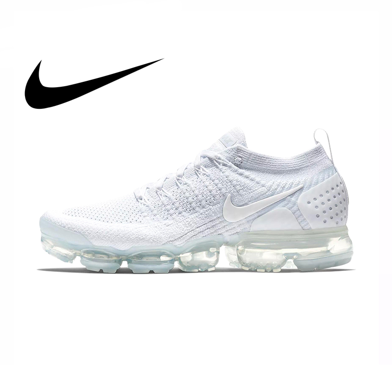 Original Authentic Nike Air VaporMax Men's Running Shoes Lightweight Sports Outdoor Sports Shoes Breathable Comfort 942842-002