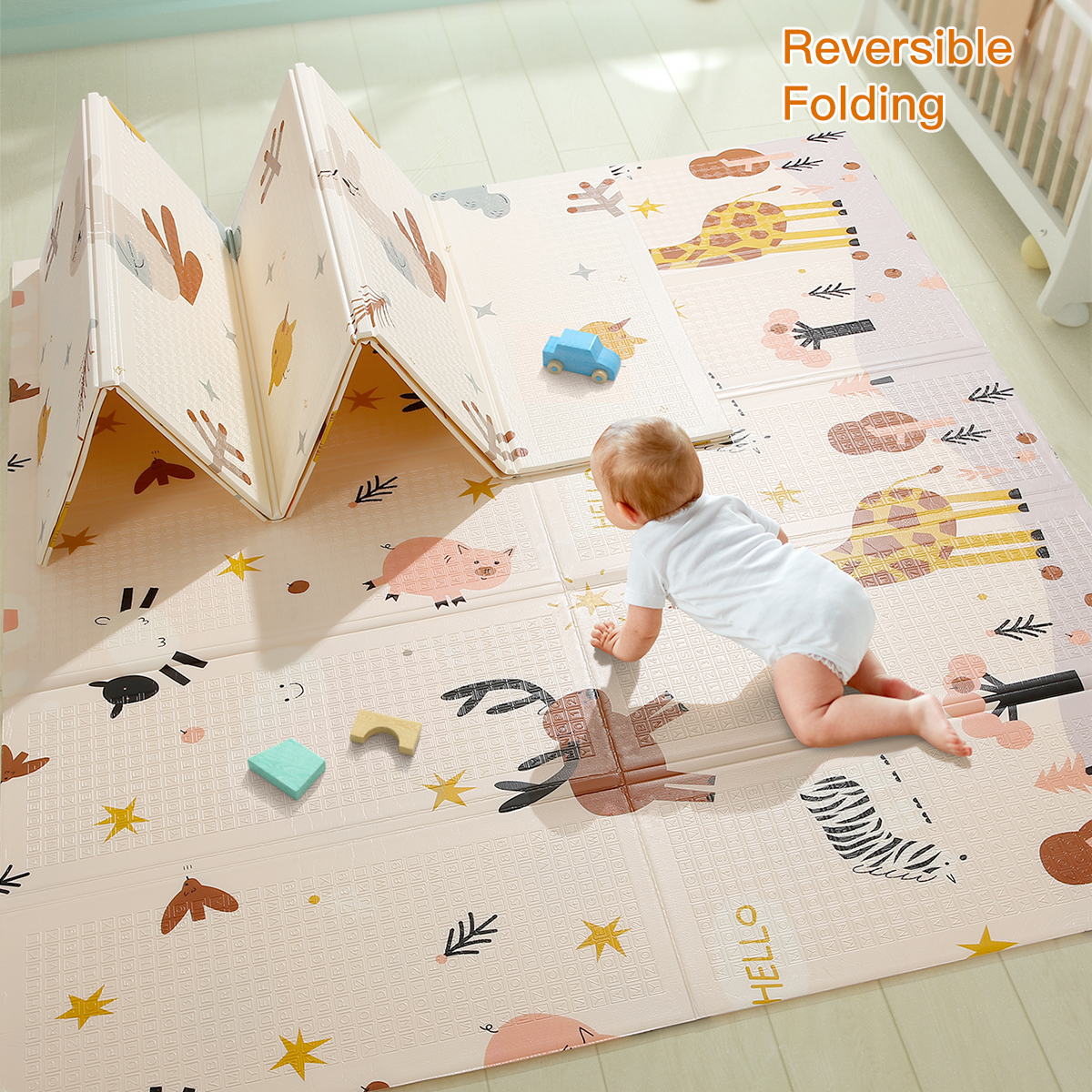 Big Discount 3d1db Beiens Baby Play Mat Puzzle Children
