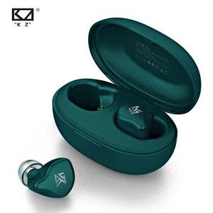 KZ S1/S1D TWS bezprzewodowe słuchawki bluetooth słuchawki dotykowe dynamiczny/hybrydowy zestaw słuchawkowy sportowy zestaw słuchawkowy KZ S2 ZSNpro