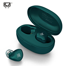 KZ S1/S1D TWS casque sans fil bluetooth contrôle tactile écouteurs dynamique/hybride écouteurs casque Sport casque KZ S2 ZSNpro