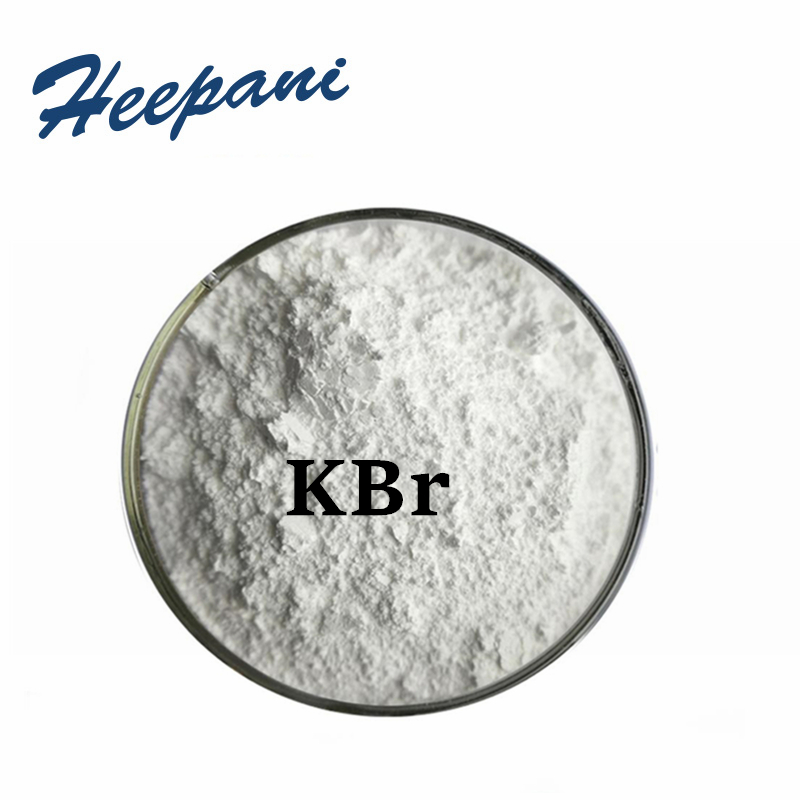Free Shipping 1kg/pack Potassium Bromide With Industry Photo Grade Organic Intermediates Pharm KBr Material Powder