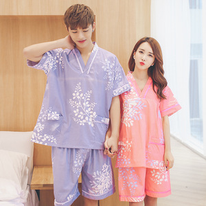 Japanese Korean Men And Women-Bath Moisture-wicking Clothing Couples Sauna Clothes Special Offer Large Size Bath Comfortable Foo