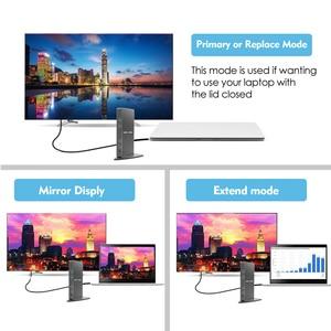 Image 5 - Full HD 2048X1152 Đa Năng USB 3.0 Đế Cắm + RJ45/DVI/HDMI/VGA/Mic/Cổng Âm Thanh DisplayLink Gigabit Ethernet Mạng Làm Việc