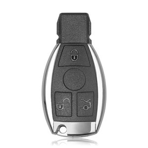 Image 1 - Smart Key Shell 3 Button For Benz Only Key Shell with Logo