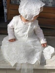 Image 5 - HAPPYPLUSชุดเด็กแขนยาว/แขนกุดเด็กวินาทีFirstสาววันเกิดพรรคสำหรับChristening Baptismชุด