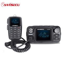 Anysecu M-9900 4G LTE POC VHF UHF Dual Modus Mobile Radio 25W Ham Radio Station Walkie Talkie Communciator echt PTT Netzwerk Radio
