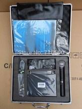 Micrófono inalámbrico SLX24, dispositivo portátil de alta calidad, UHF, beta58, con funda de vuelo