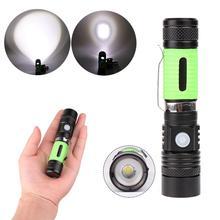 Портативный светодиодный Многофункциональный светильник T6 Torchlight наружный Usb Перезаряжаемый контрольный фонарь светодиодный мини фонарик T6 светодиодный