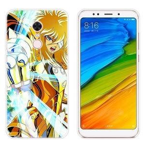 Image 5 - Роскошный мягкий силиконовый чехол Saint Seiya с аниме для Xiaomi Redmi 7 7A GO S2 4X 5 5Plus 6 6A K20 Note 4 5A 6 7 8 Pro, Модный чехол