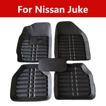 Pvc Car Stickers Driving On The Left Seat Car Floor Mats For Nissan Juke for Car, SUV, Van Trucks image