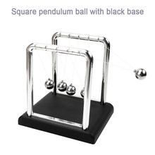 Fsum Newton 'S Cradle Bureau Tafel Decor Metalen Slinger Bal Newton Ball Natuurkunde Science Pendulum Steel Balance Ball Xunmi Ambachten(China)