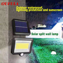 LED Solar Bulb Outdoor Wall Lights Panel Garden Lamp IP65 Night Security Waterproof Energy Savin Spot Lights Street(China)