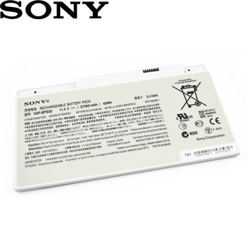 Sony оригинальный VGP-BPS33 Новинка 3760 мАч аккумулятор для ноутбука SONY VAIO SVT-14 SVT-15 T14 T15 BPS33 SVT1511M1E SVT14126CXS 11,4 V 43Wh