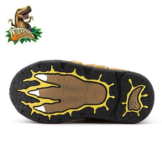 Boys Dinosaur Glowing Sneakers 5