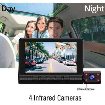 Dash Cam Video Recorder Rearview Camera 6