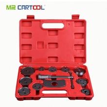 MR CARTOOL 13pcs Universal Auto Car Precision Disc brake sub-pump adjuster brake piston return special car repair special tools стоимость