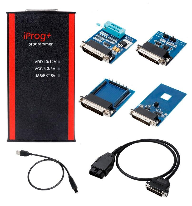 Image 3 - جهاز برمجة Iprog + مفتاح جديد يدعم IMMO + تصحيح الأميال + إعادة ضبط الوسادة الهوائية Iprog Pro to 2019 استبدال Carprog/Digiprog/Tangoبرامج المفاتيح الآلية   -
