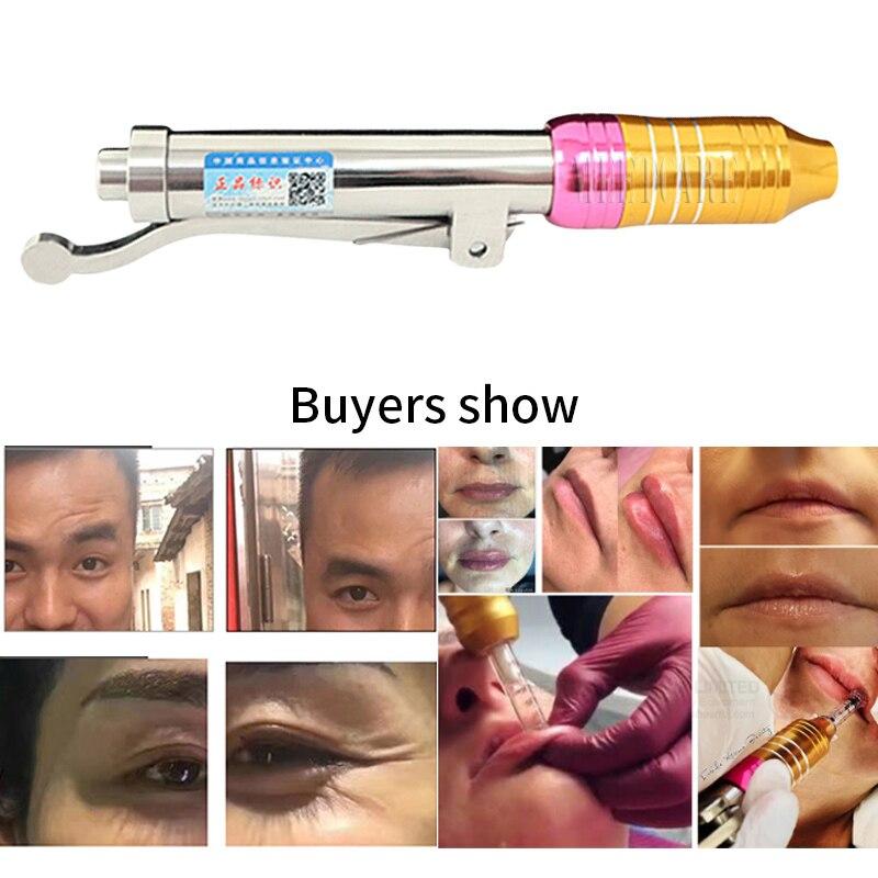Stylo réglable d'acide hyaluronique de stylo d'acide hyaluronique de stylo de thérapie pour la Machine d'injection à haute pression d'anti ride