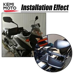 Image 3 - Motorcycle Hand Guard Protectors Handguards For Honda NC700X NC750 X NC750X DCT NC750S NC 750 X 2012 2013 2014 2015 2016 2017