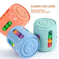 2021 cubo anti stress_hl3136 adulto presión relajante Fidget Juguetes   Juguetes Fidget   Fidget juguetes puede Spinning Top poco de magia de Pops de alivio de estrés juguete para los niños