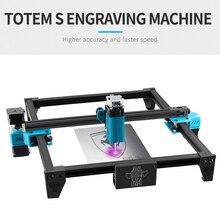 TOTEM S 40W Desktop Laser Engraver High Precision Laser Engraving Machine Fast Carver Laser Cutter Printer Cutting Engraver