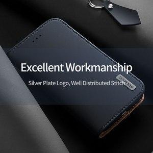 Image 2 - Do Samsung Galaxy Note 10 Plus Case luksusowe oryginalne SKÓRZANY PORTFEL etui do Samsung Note 10 Plus 5G biznes magnetyczny etui z klapką
