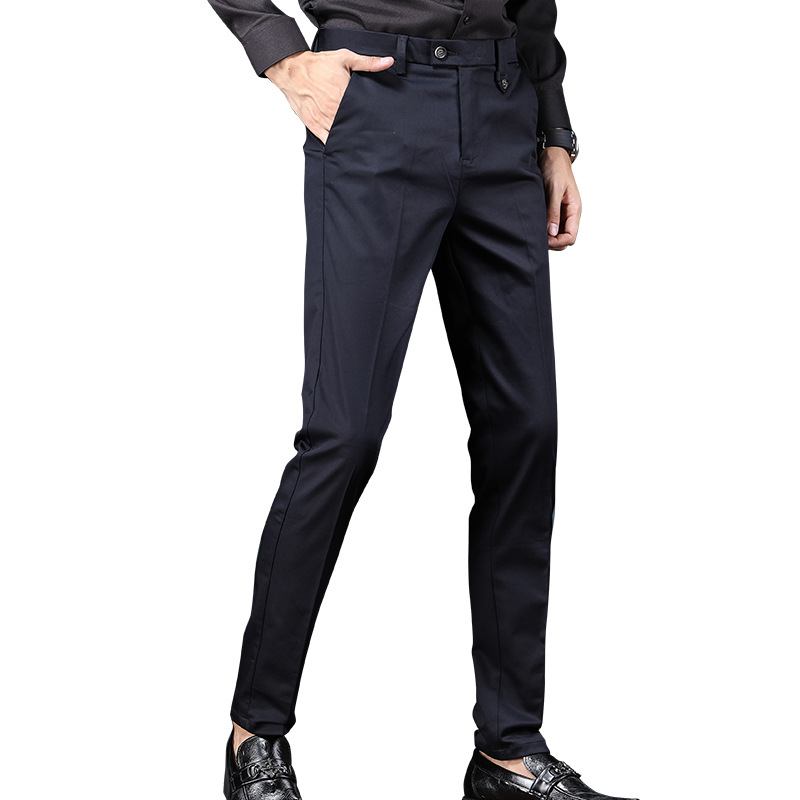 New Style Casual Trousers Young MEN'S Trend Men's Trousers Fashion Slim Fit Breathable Men'S Wear Trend MEN'S Trousers 885