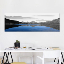 AAHH Abstract Landscape Large Size Posters  Painting Wall Art Canvas Picture Print for Living Room Home Decor No Frame