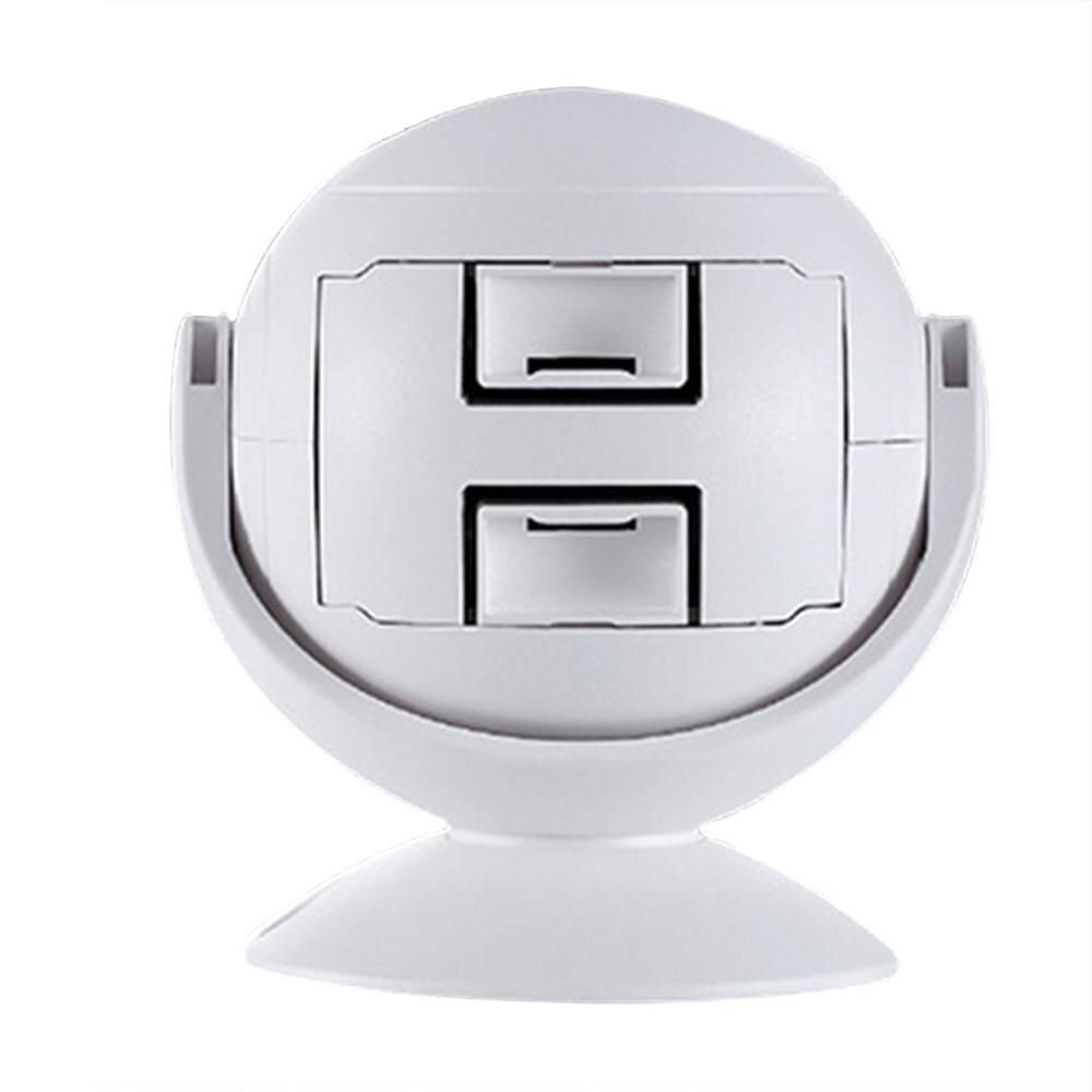 3-in-1 Wireless Infrared Sensor Doorbell Welcome Guest Doorbell Custom Voice Prompter For Stores Shops Hotel Home