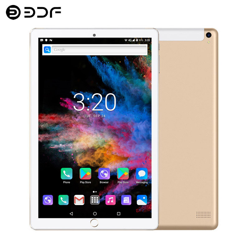 New 10.1 Inch Tablet Android 7.0 Octa Core 3G/4G Phone Call 6GB/128GB Dual SIM Support Wi-Fi Bluetooth Tablet PC +Keyboard