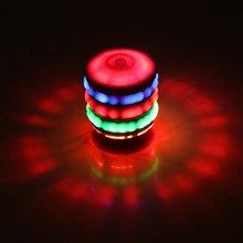 Светящиеся пластиковые вращающиеся детские игрушки Красочные Музыкальные вспышки электрические вращающиеся профессиональные модные портативные компактные