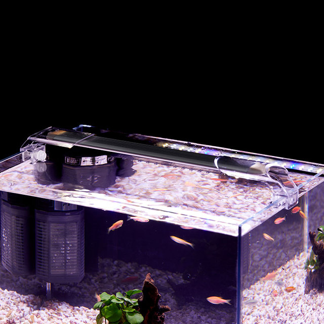Super Slim LED Aquarium Lighting Aquatic Plant Light 86-95CM Extensible Waterproof Clip on Lamp  2