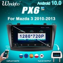 магнитола 2 din Android 10 Автомагнитола радио PX6 для Mazda3 Mazda 3 2004-2009 навигационный экран автомобильный стерео GPS Авто Аудио 2 din мультимедийный экран...