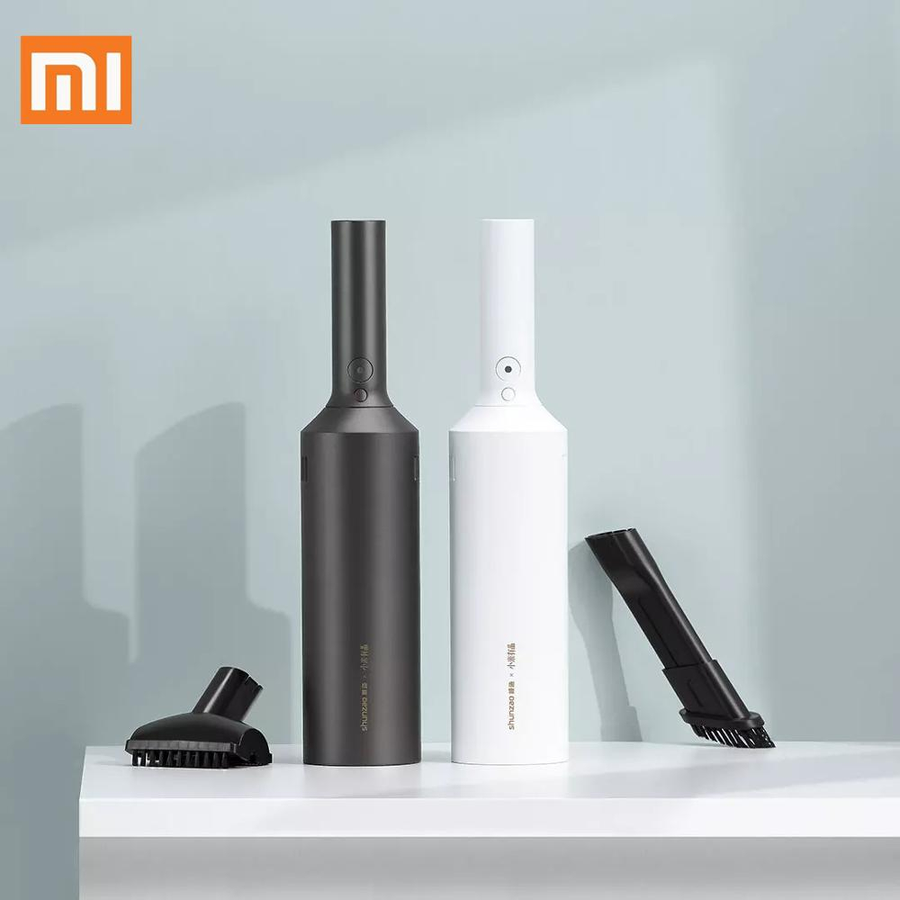 XIAOMI Shunzao handy vacuum cleaner hand held cordless wireless vacuum cleaner portable rechargeable vacuum cleaner|Vacuum Cleaners|   - AliExpress
