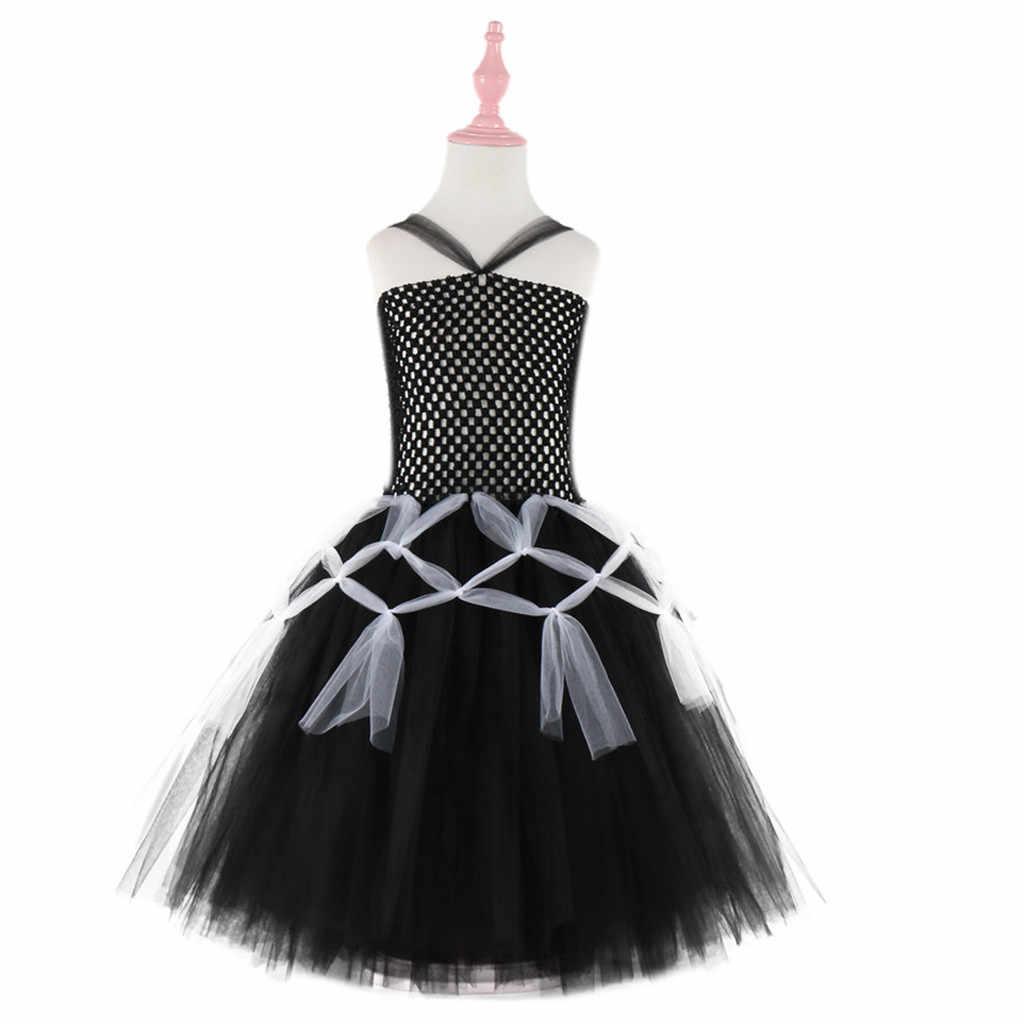 פעוט ילדי תינוק בנות ליל כל הקדושים עכביש קוספליי טוטו שמלת מסיבת בגדי בגדי ילדים טוטו שמלות בנות מפלגה שמלה