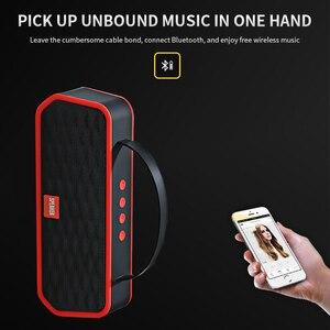 Image 3 - 휴대용 블루투스 5.0 스피커베이스 사운드 야외 무선 스피커 지원 tf 카드 fm 핸즈프리 통화 1200 mah 서브 우퍼
